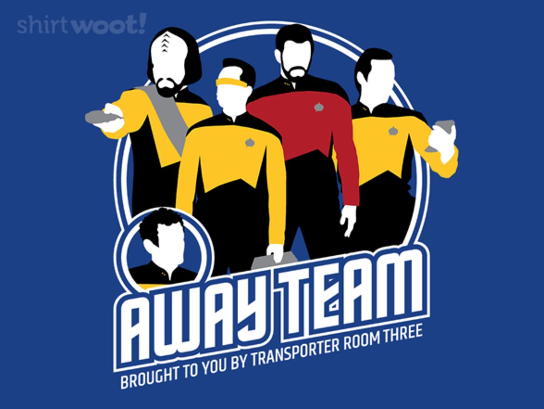 Woot!: Away Team