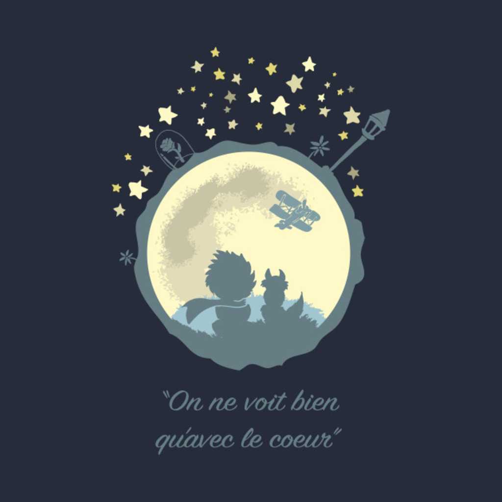 TeePublic: The Prince, The Fox & The Moon
