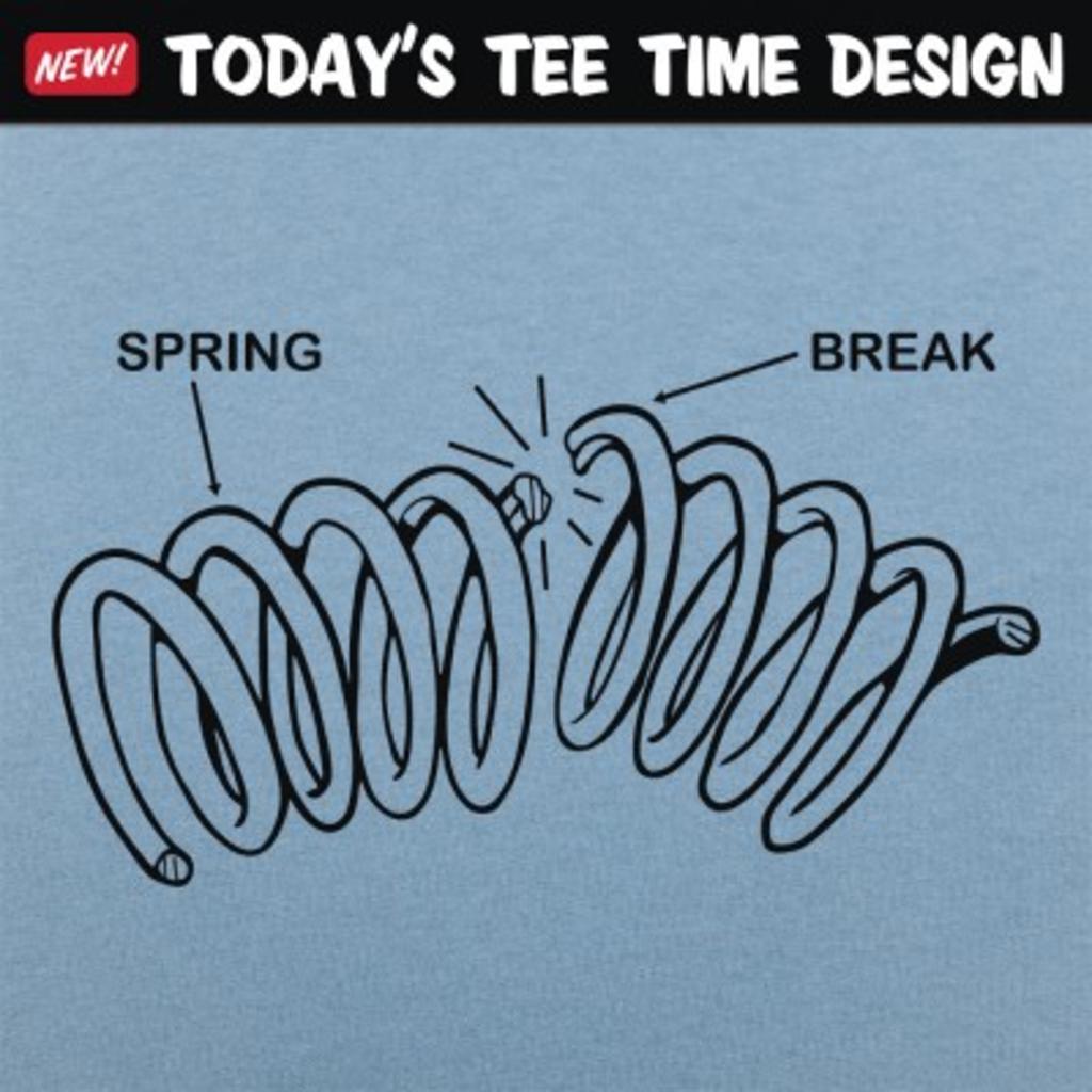 6 Dollar Shirts: Spring Break Diagram