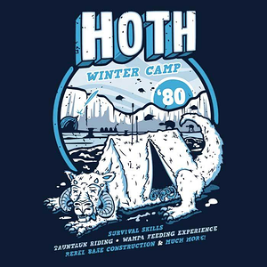 Once Upon a Tee: Hoth Winter Camp