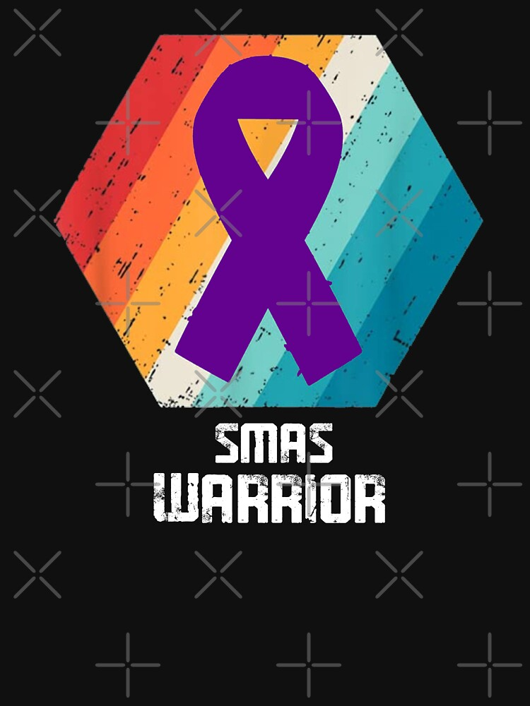 RedBubble: Superior Mesenteric Artery Syndrome SMAS Awareness Warrior Support Survivor Purple Ribbon Gifts