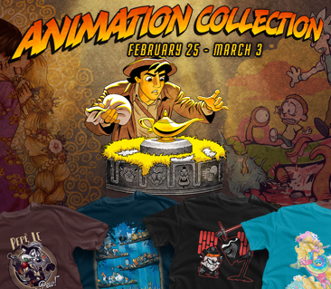 TeeFury: Animation Collection