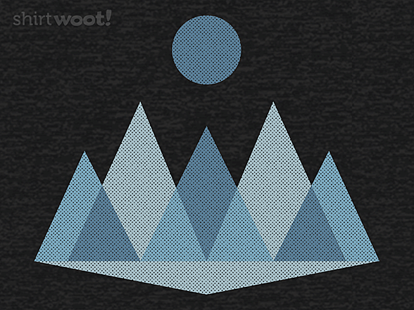 Woot!: Abstract Winter Landscape