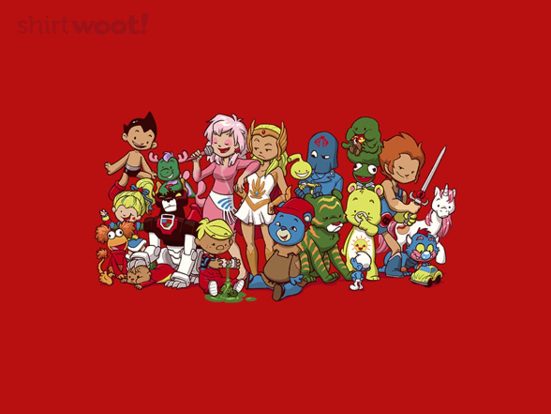 Woot!: My 80s Friends