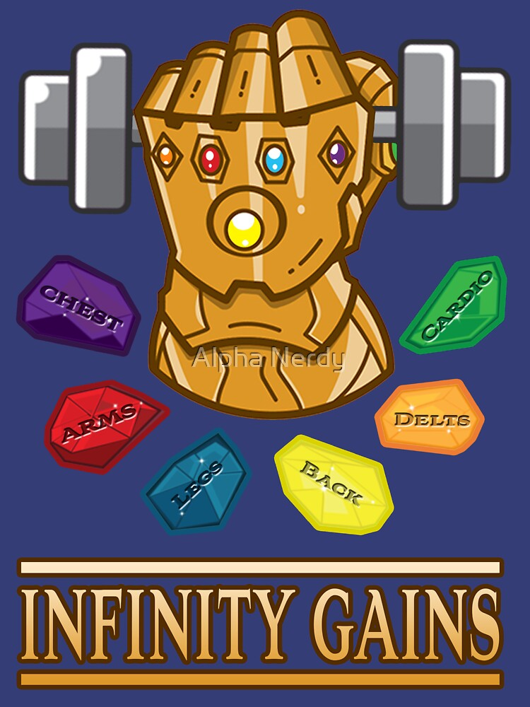 RedBubble: The Infinity Gaintlet