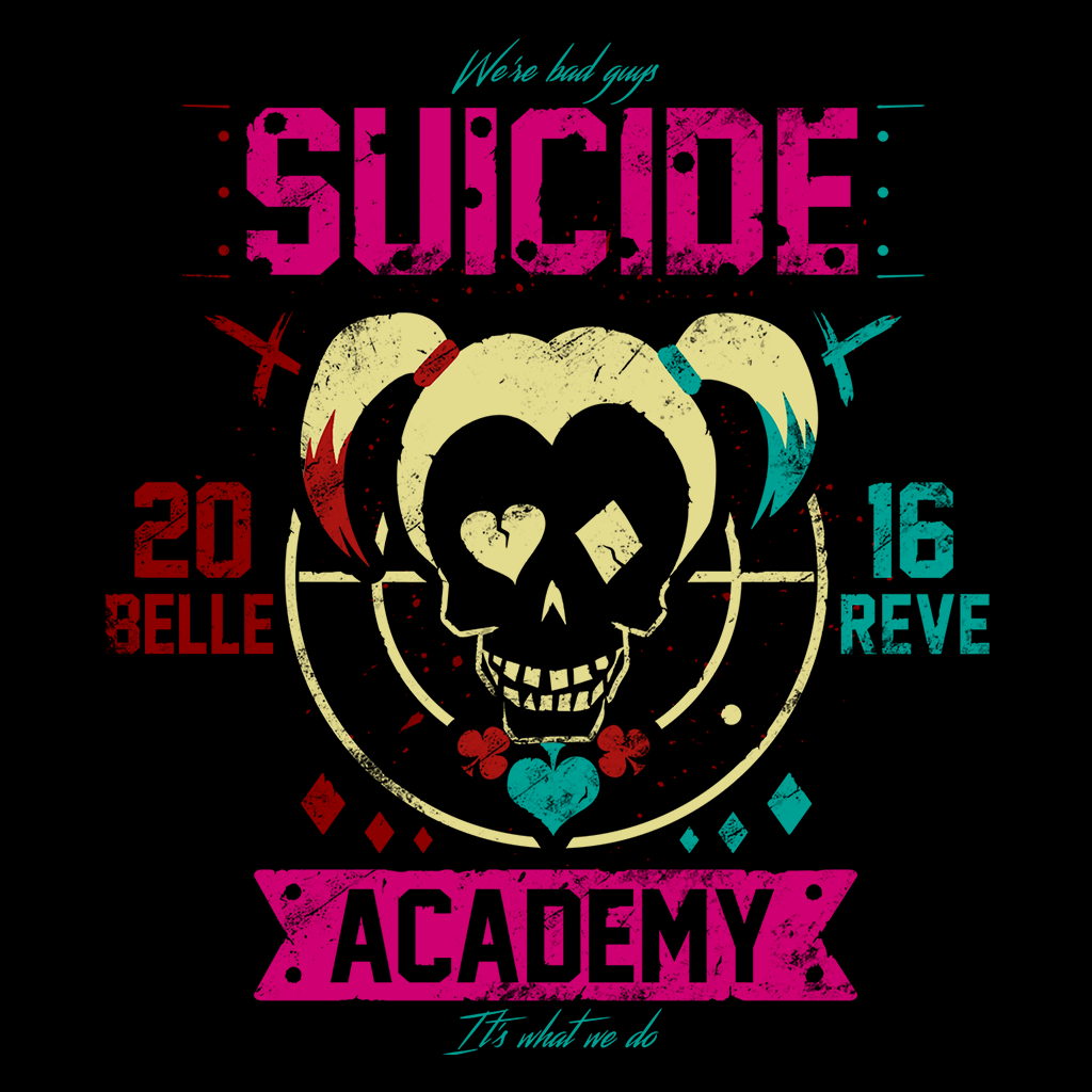 Pop-Up Tee: Suicide Academy Quinn
