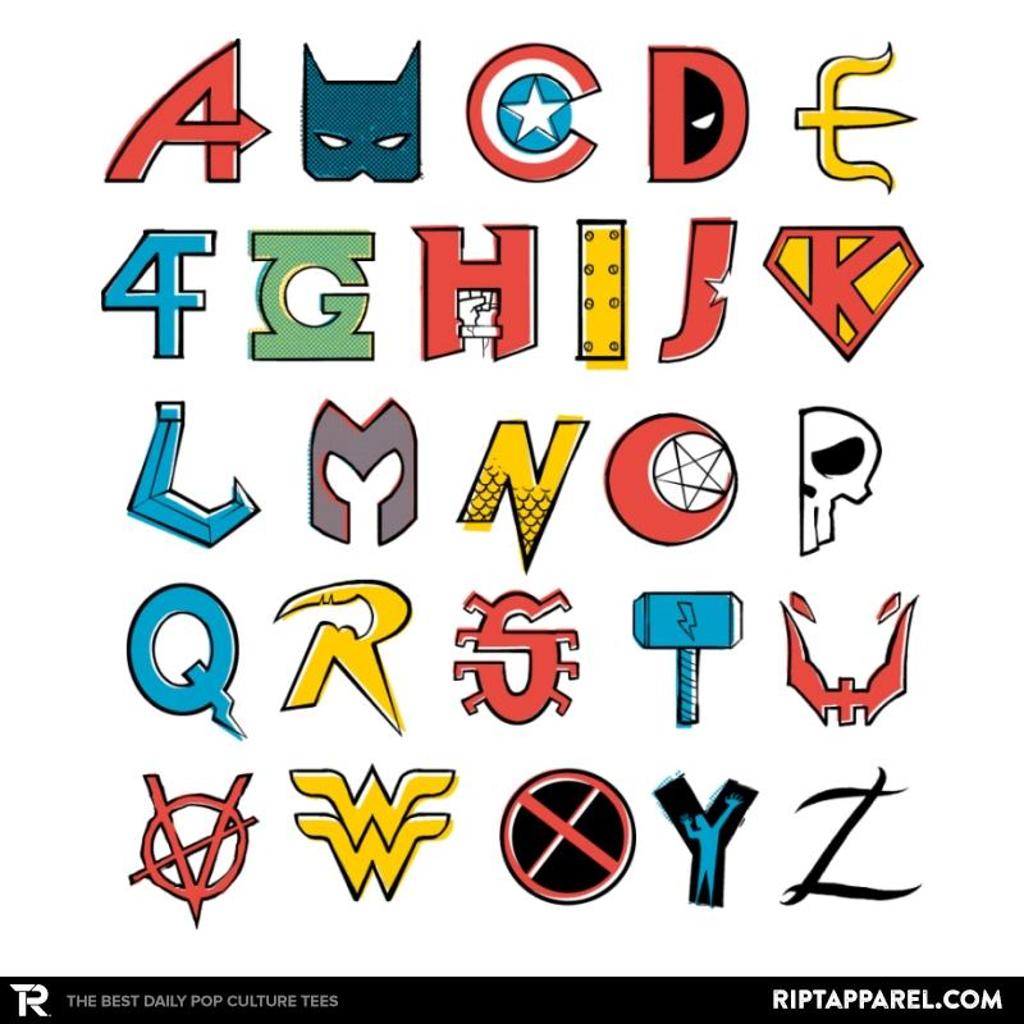 Ript: Comics Alphabet