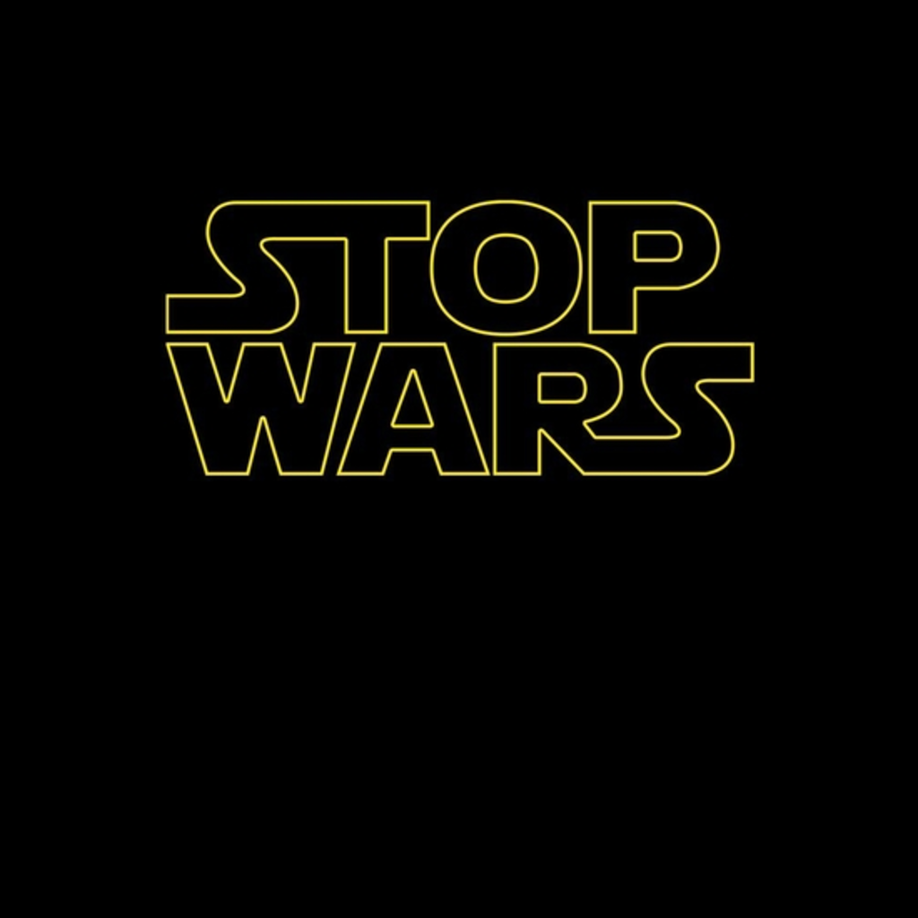 BustedTees: Stop Wars