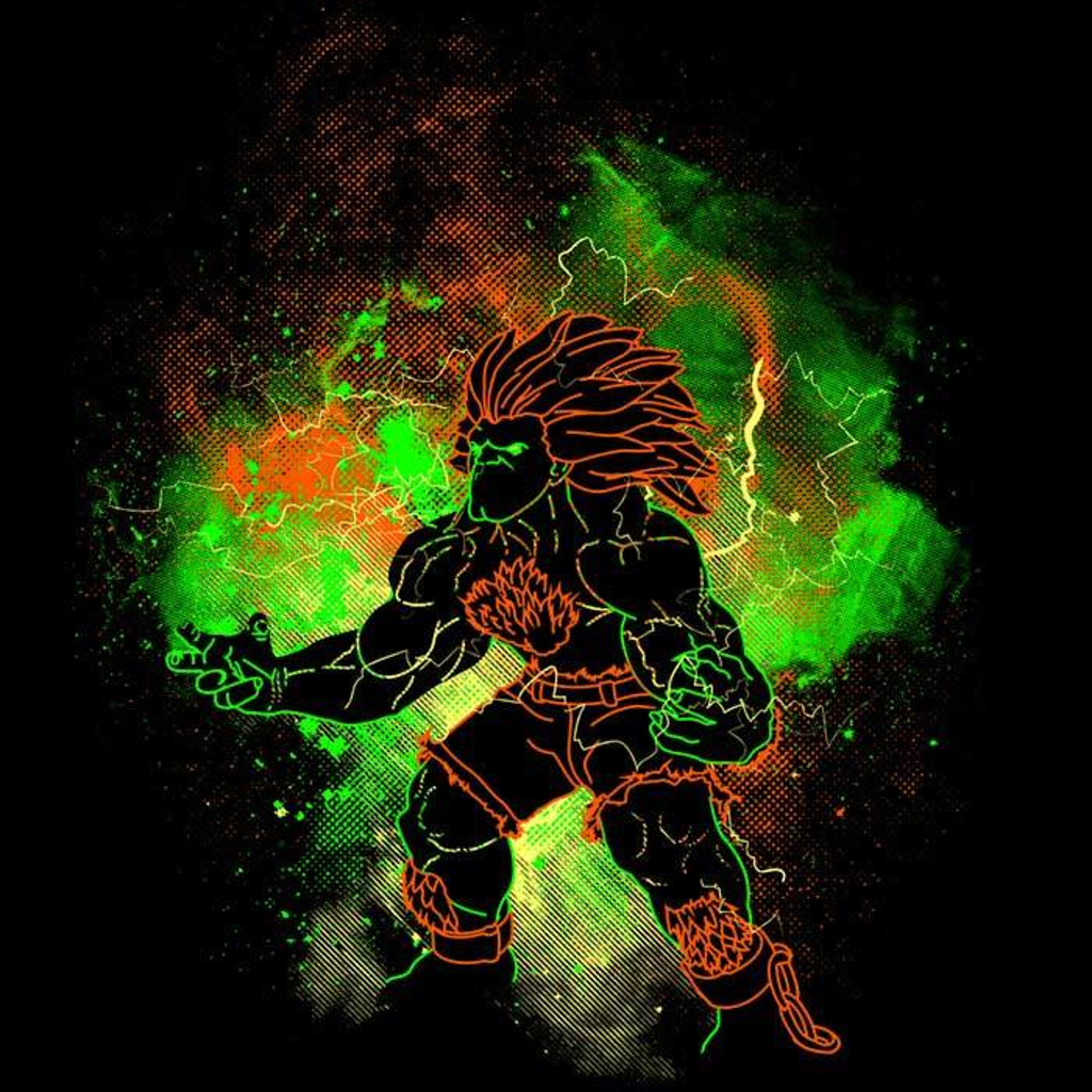 Once Upon a Tee: Blanka Art