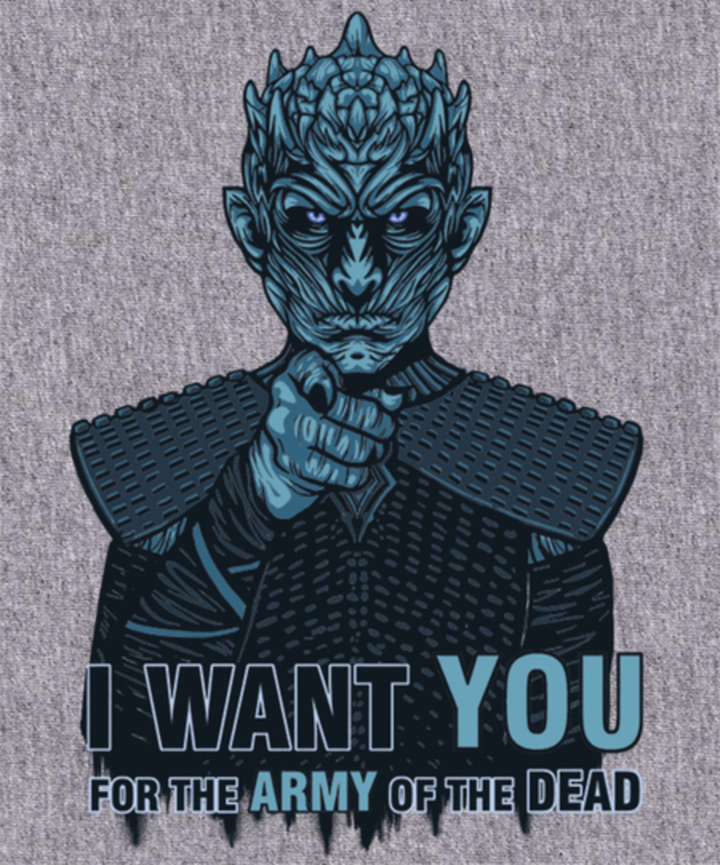 Qwertee: Uncle Night King