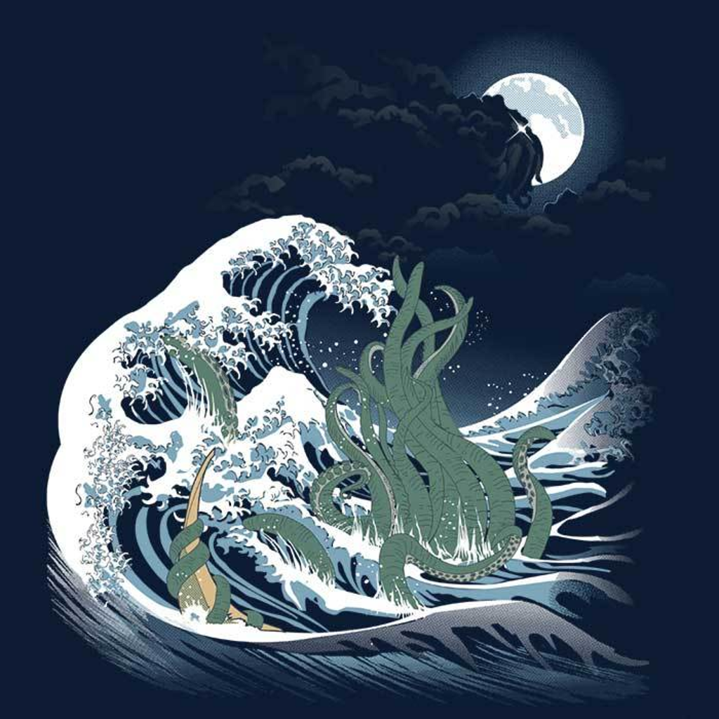 Once Upon a Tee: The-Wave-Of-R'lyeh