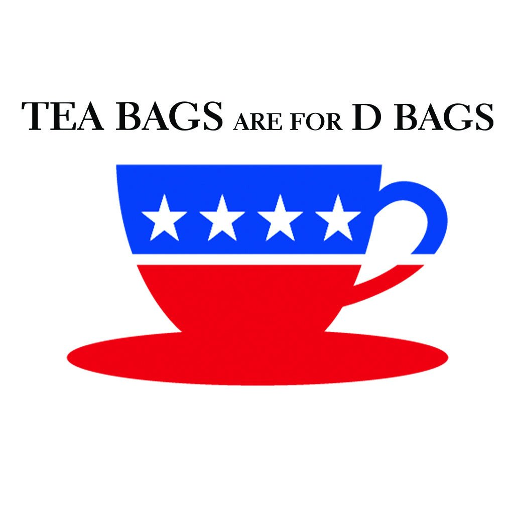 LivingTees: Tea Bags Are For D Bags Tee