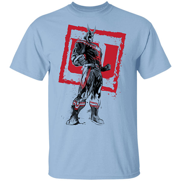 Pop-Up Tee: All Might sumi-e