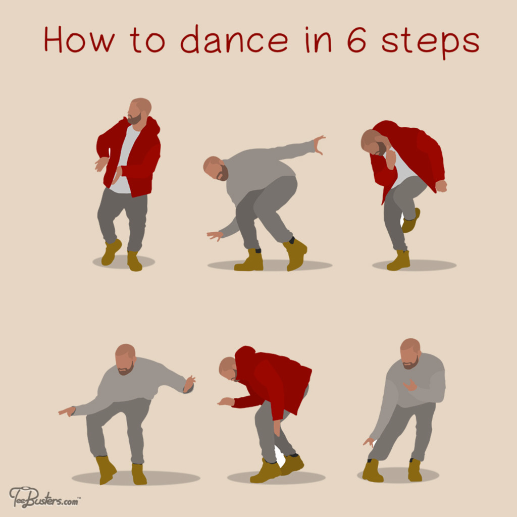 TeeBusters: How To Dance In 6 Steps
