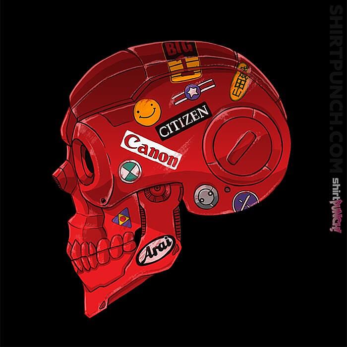 ShirtPunch: Akira Skull