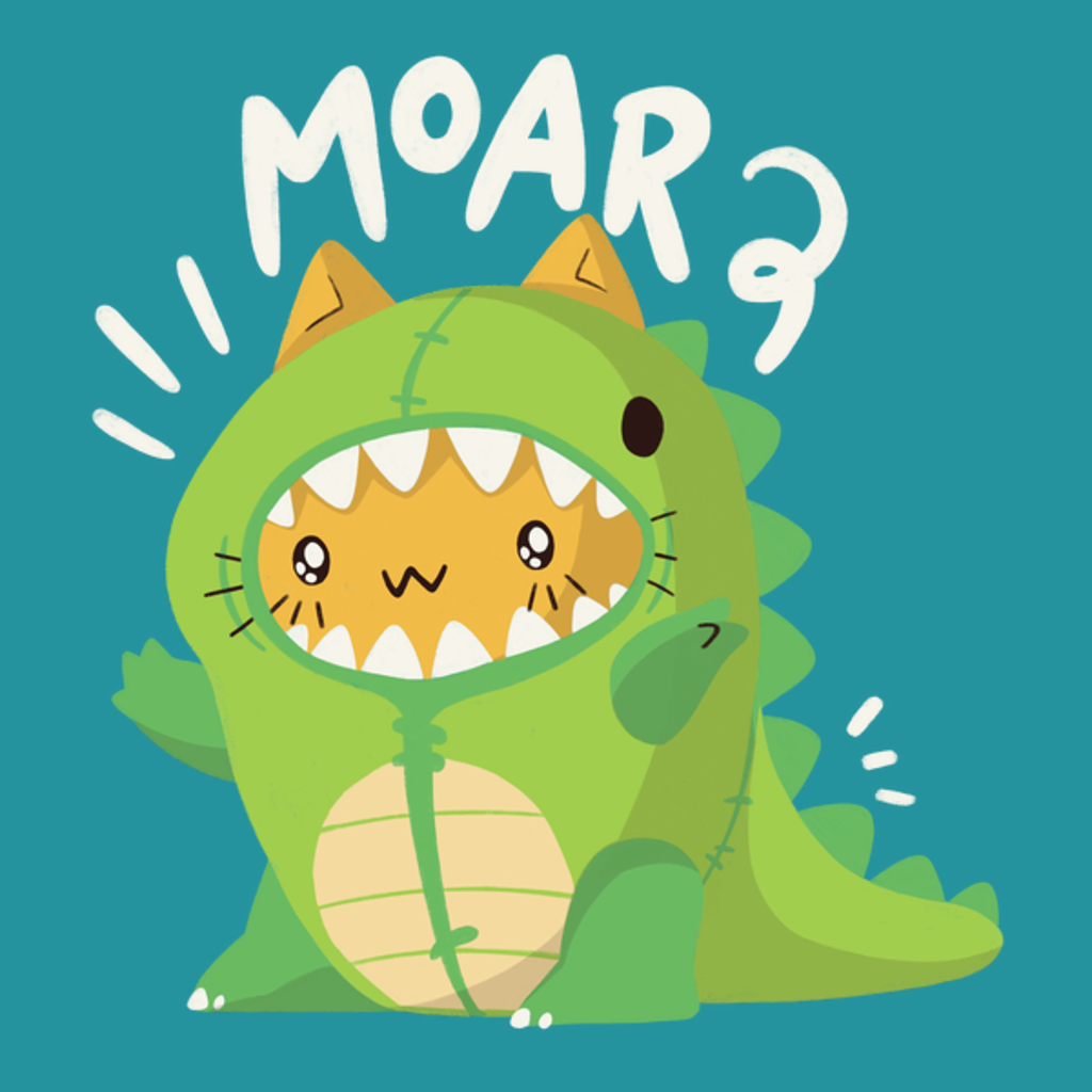 NeatoShop: Cat in a Dinosaur Suit