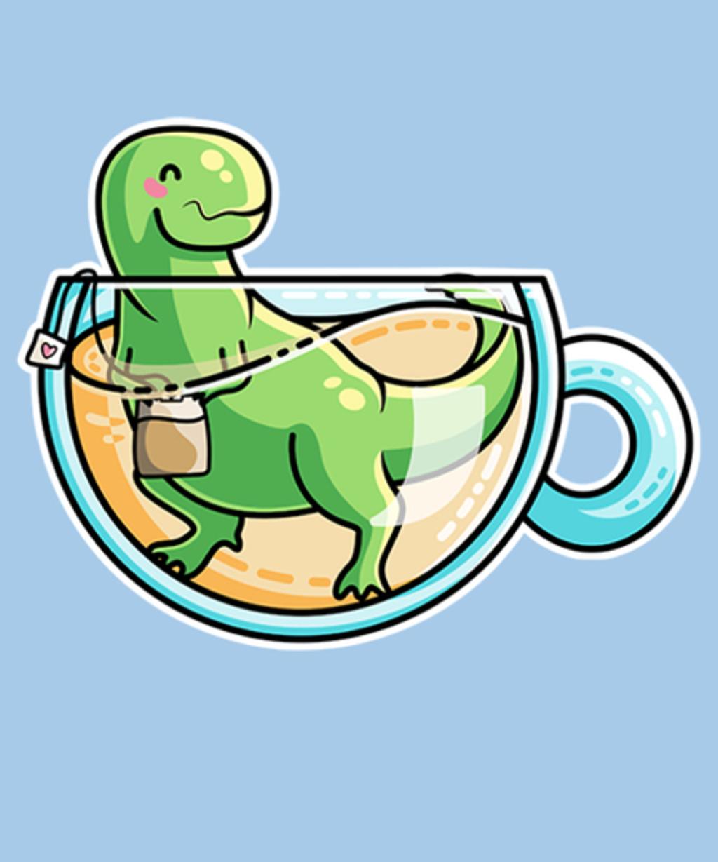 Qwertee: Tea-Rex