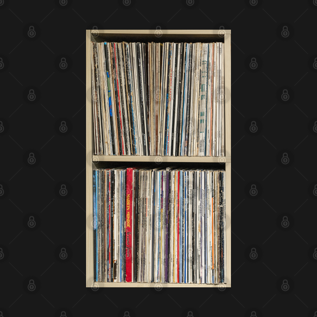 TeePublic: Vinyl Record Collection For Crate Diggers