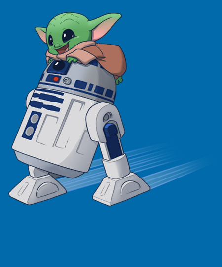 Qwertee: Droid Squee