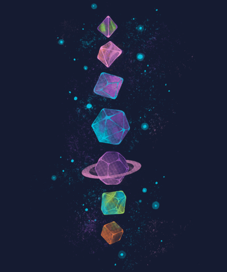 Qwertee: Space Dice