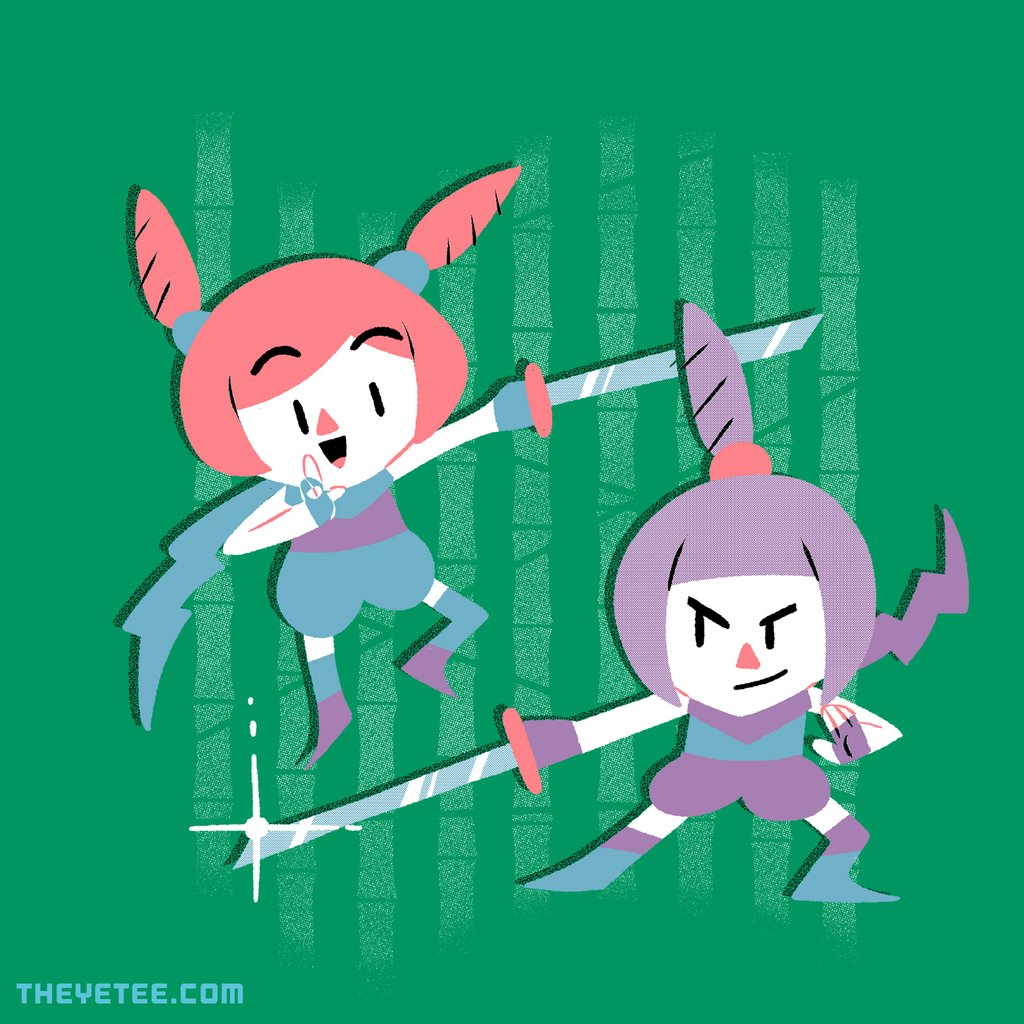 The Yetee: Kindergarten, Ninja Garden