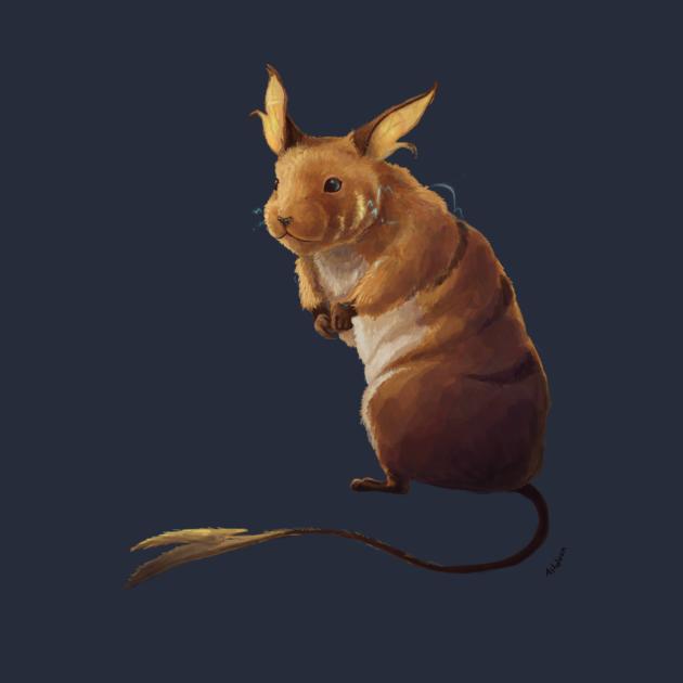 TeePublic: Rat the Hamster
