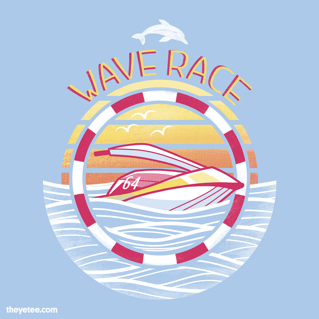 The Yetee: Wave Racing