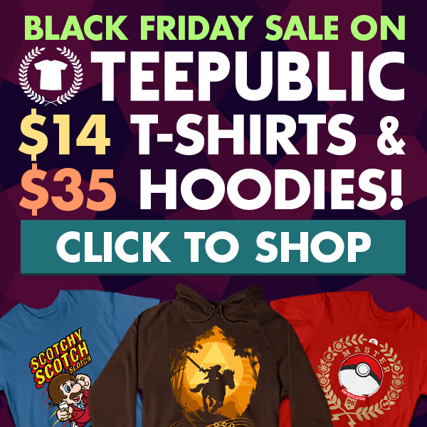 TeePublic: Black Friday Sale