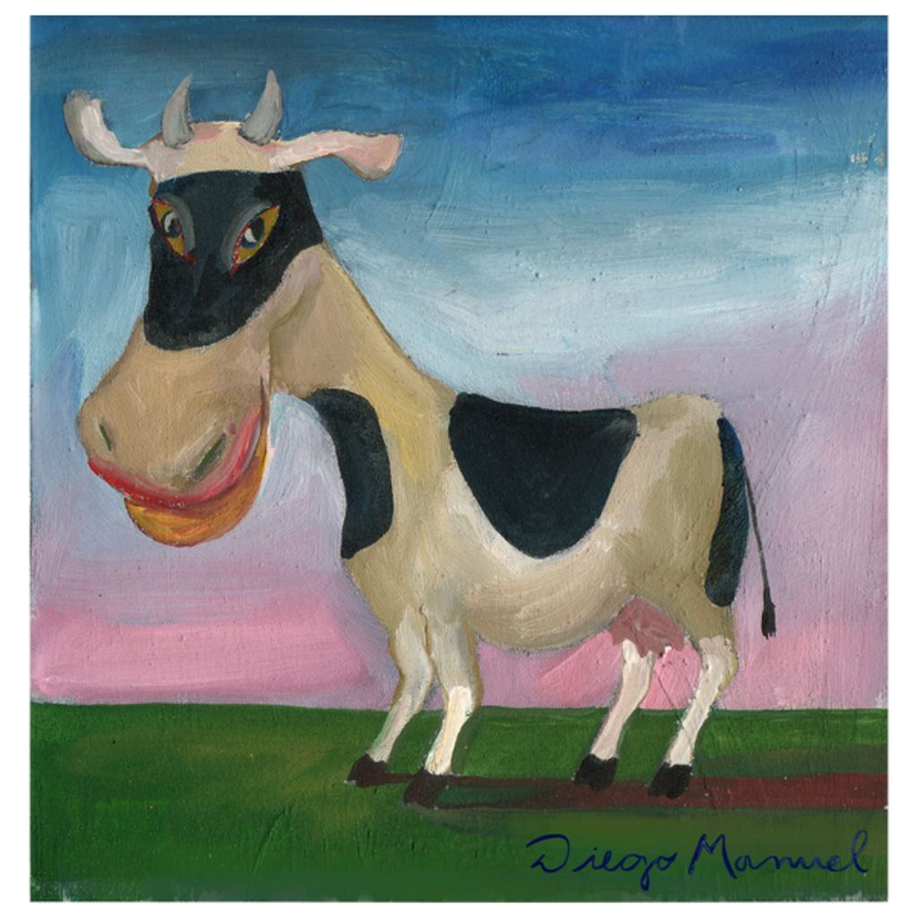 NeatoShop: Masked cow