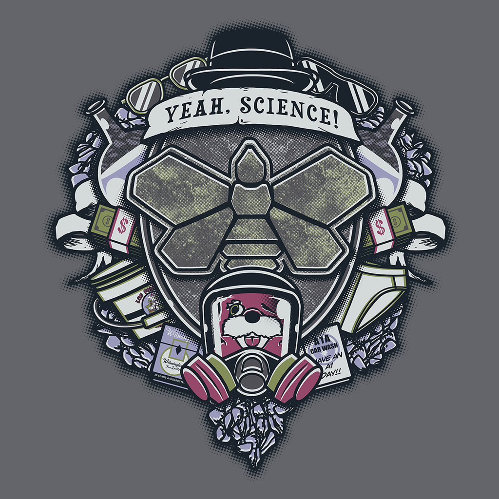 Pop-Up Tee: Yeah, Science!