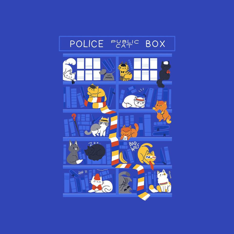 TeeFury: Library Box Who