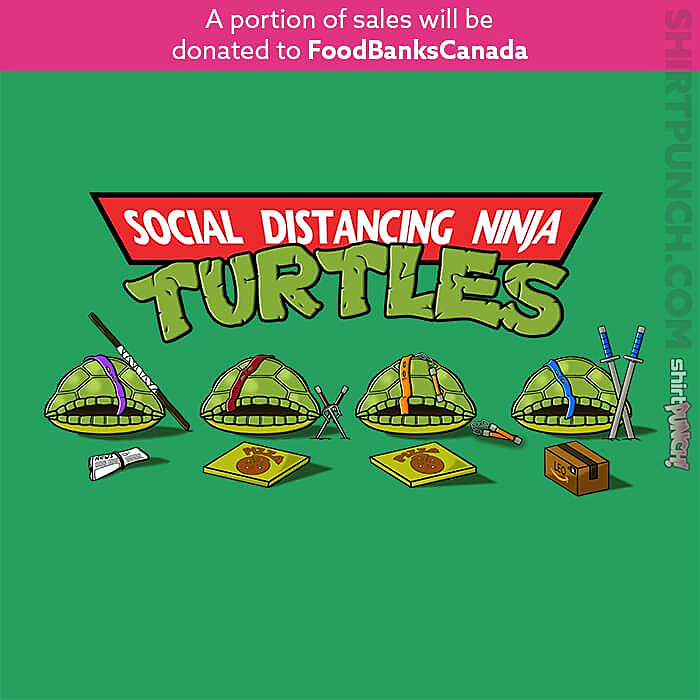 ShirtPunch: Social Distancing Turtles