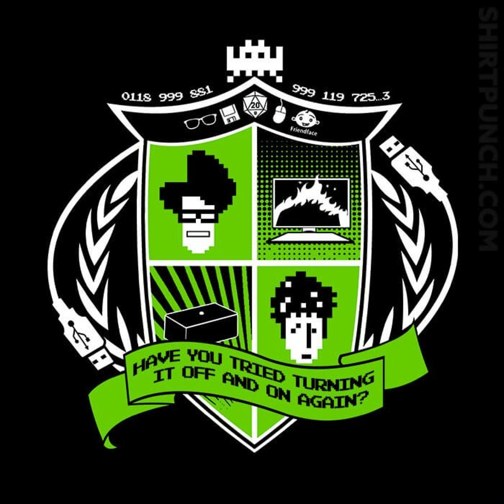 ShirtPunch: IT Crest