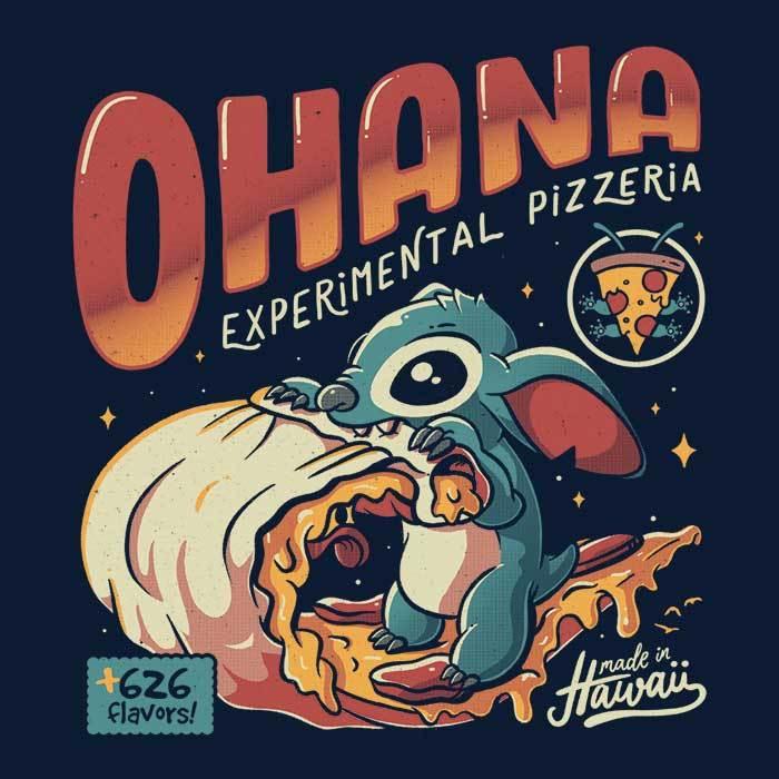 Once Upon a Tee: Ohana Pizzeria