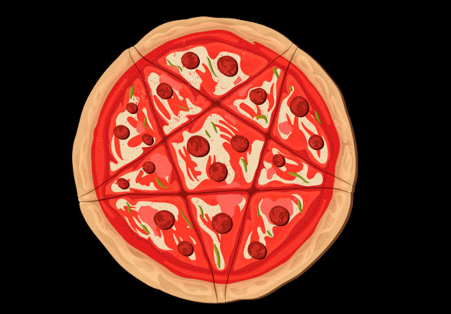 teeVillain: Pizzagram