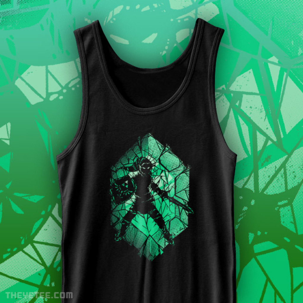 The Yetee: Shattered Fortunes Tank Top