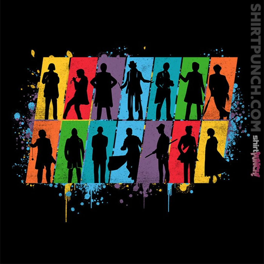 ShirtPunch: Time Lord