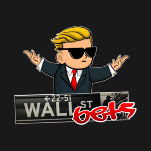 TeePublic: La marchandise officielle de WallStreetBets T-shirt ajusté