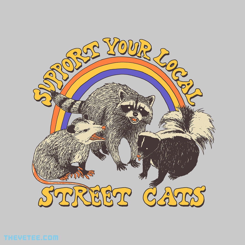 The Yetee: Street Cats