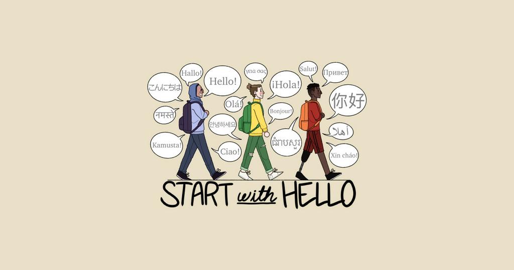 TeePublic: Start with Hello! 2021