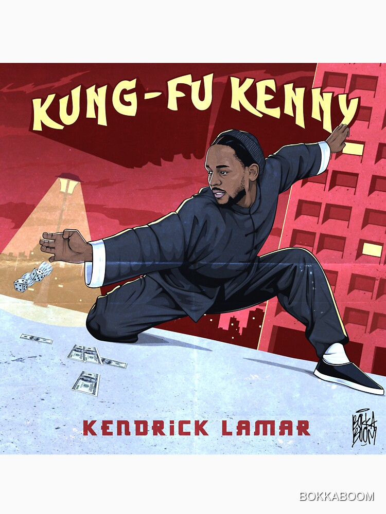 RedBubble: Kung Fu Kenny
