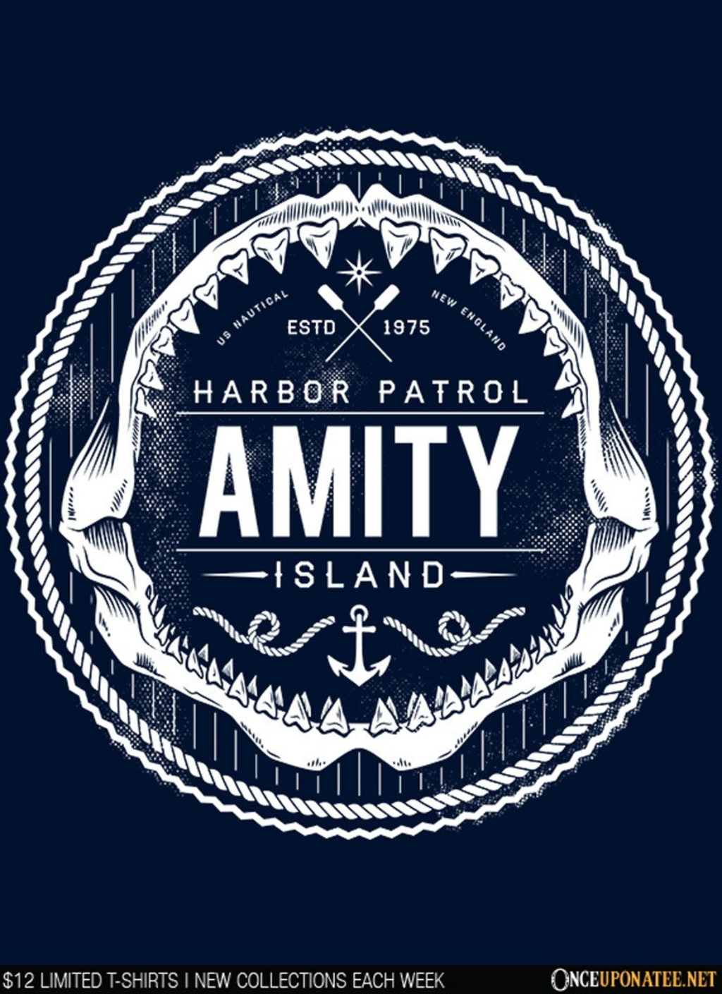 Once Upon a Tee: Amity Island Harbor Patrol