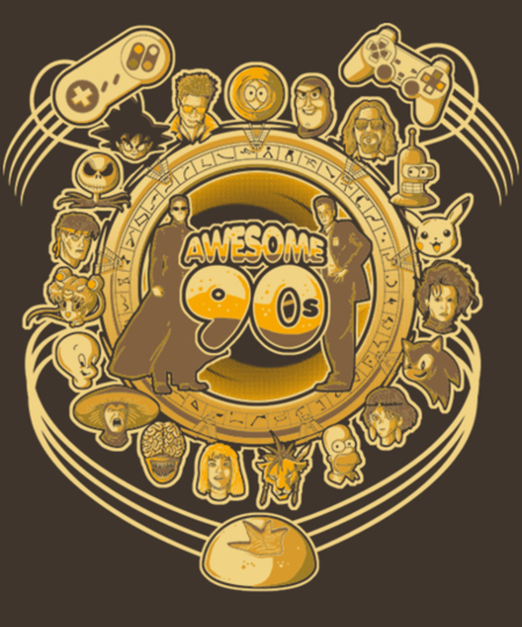 Qwertee: Awesome 90s