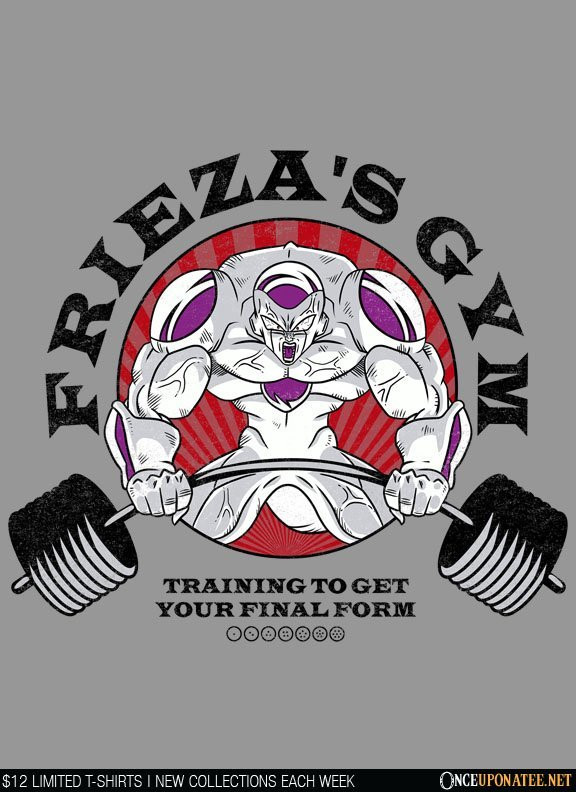 Once Upon a Tee: Frieza's Gym
