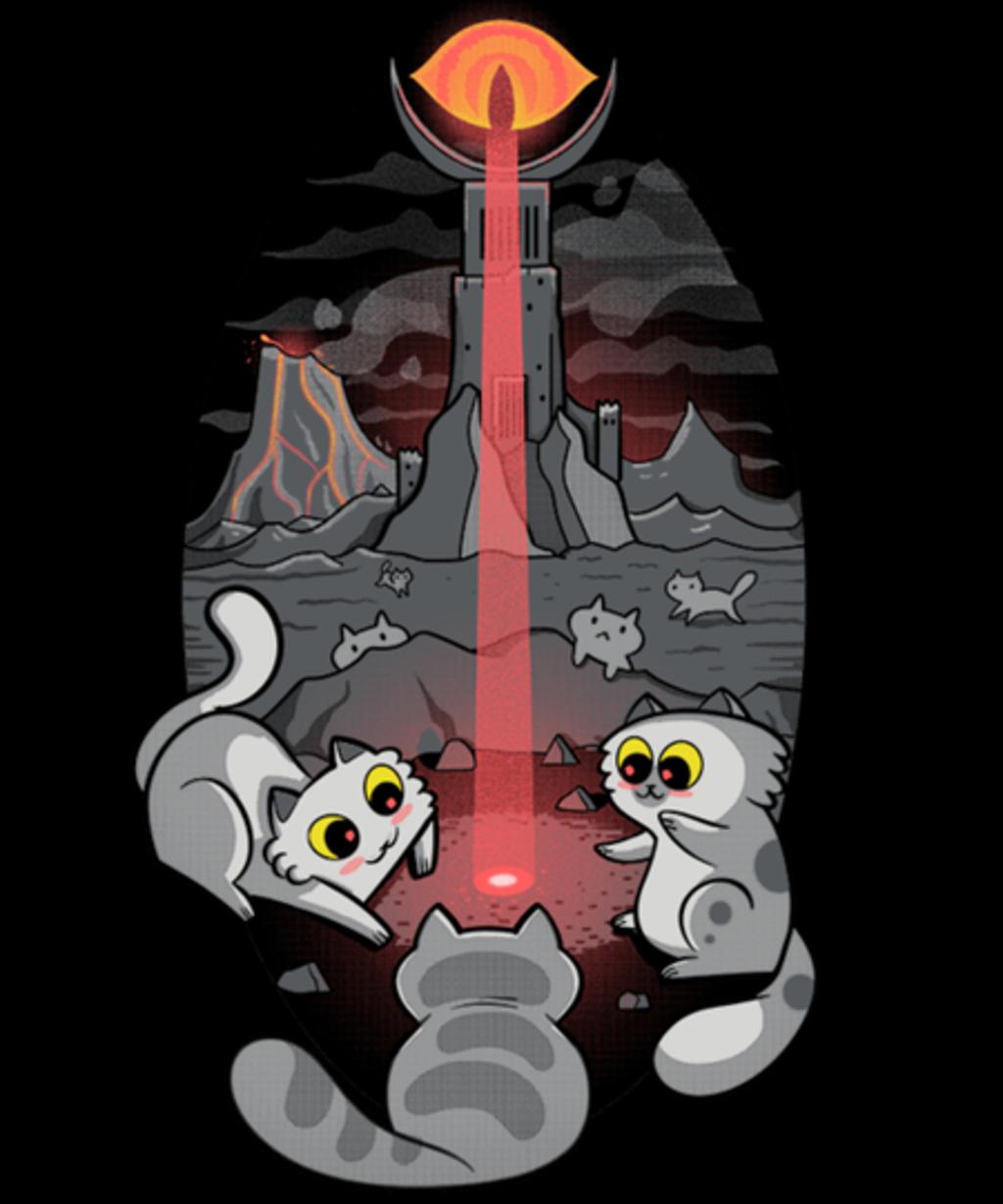 Qwertee: The Eye of Meowdor