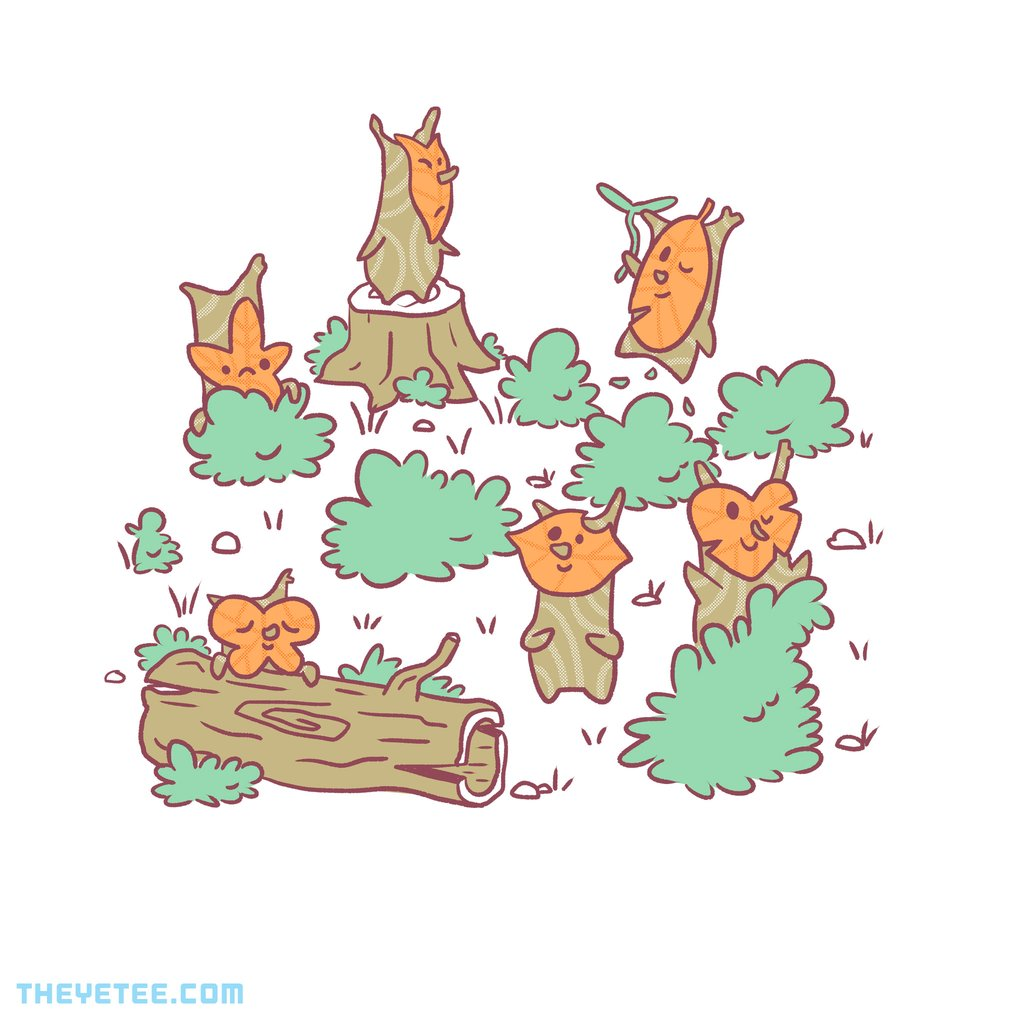 The Yetee: Forest Party by Jaime Ugarte