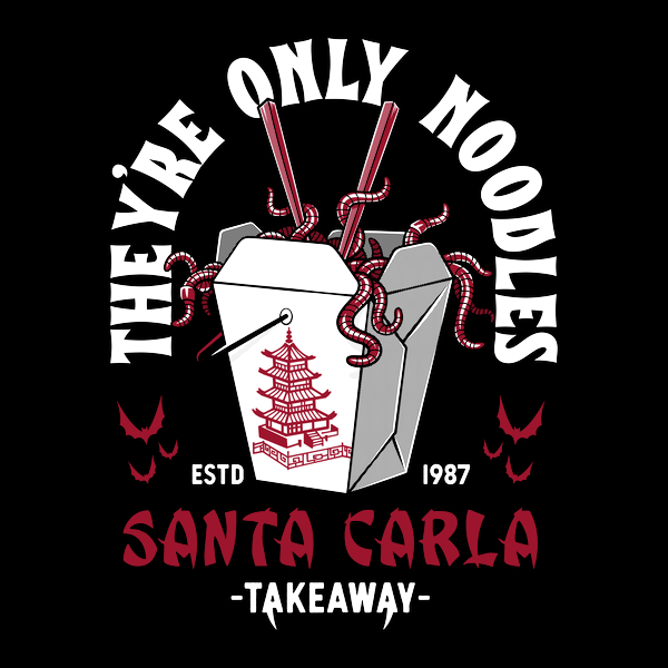 NeatoShop: They're Only Noodles - Santa Carla Chinese Food - Lost Boys