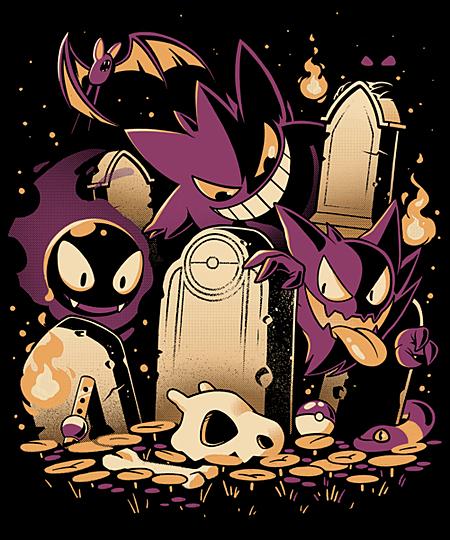 Qwertee: Ghosties
