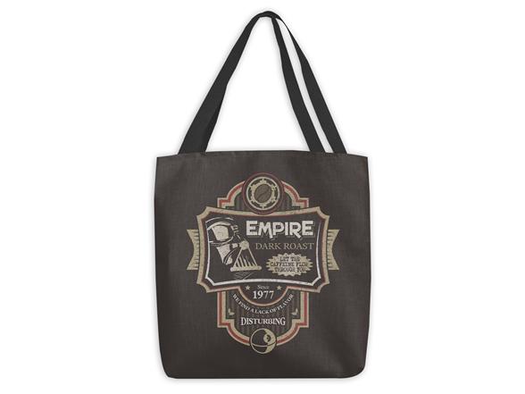 Woot!: Empire Dark Roast Large Tote Bag