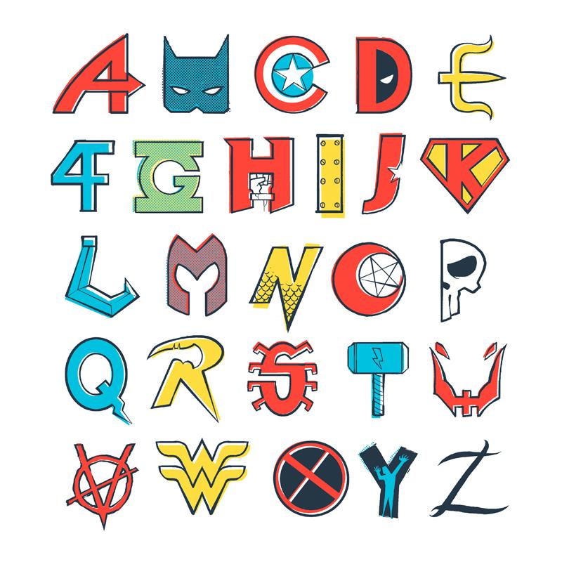 Pampling: Comics Alphabet
